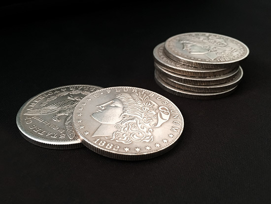 Morgan Dollar Replika Steel